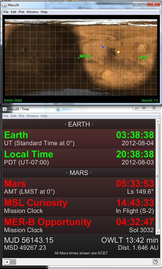 Mars24 screen cap