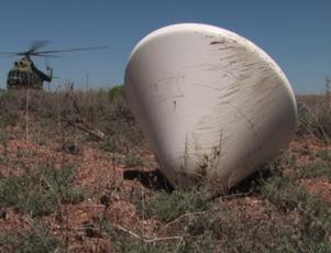 Simulated search for Phobos-Grunt sample return capsule