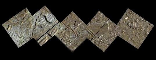 High-Resolution Mosaic of Conamara Chaos, Europa (20 February 1997)