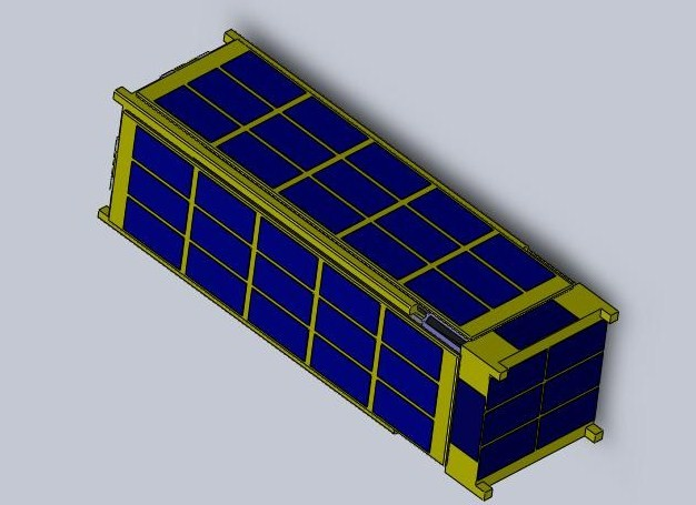 Lightsail-1 Stowed Configuration
