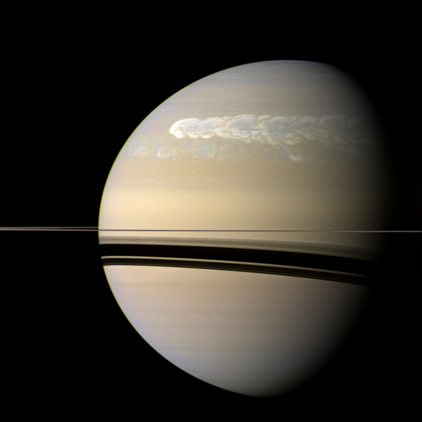 Stormy Saturn