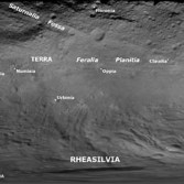 Vesta's place names as of January 2012 (deprecated)