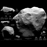 All asteroids and comets visited by spacecraft as of November 2010