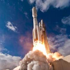 Curiosity launches on an Atlas V