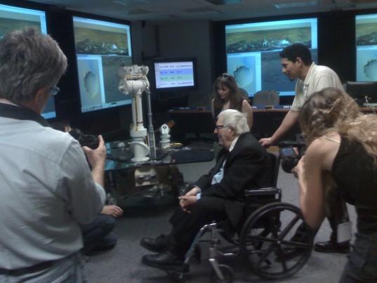 Ray Bradbury meets a Mars Exploration Rover