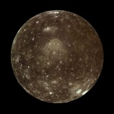 Callisto in color from Galileo orbit E11