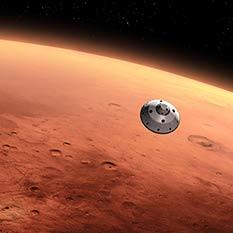 Curiosity approaches Mars