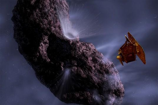 Deep Impact at a comet