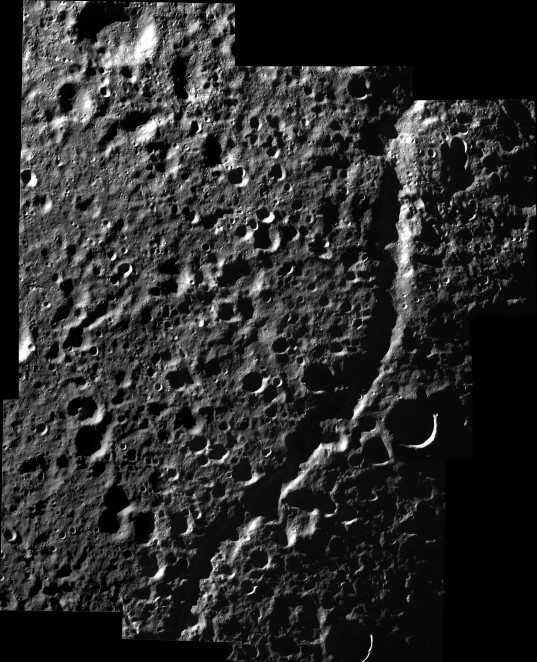 High-resolution view of Dione