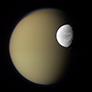 Dione and Titan