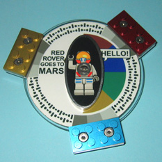 The Red Rover Goes to Mars spacecraft DVD assembly