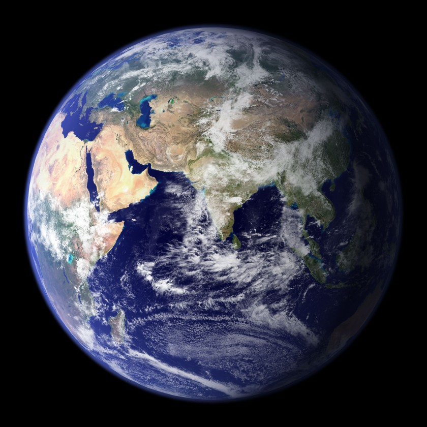 Earth in true color