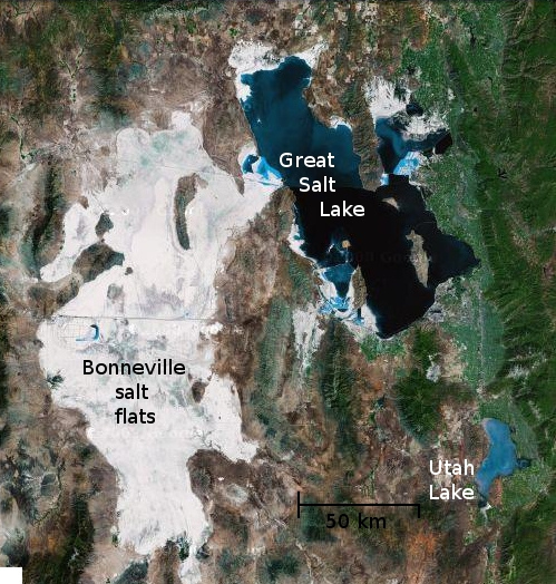 Great Salt Lake and environs