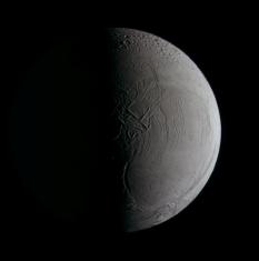 Enceladus in color
