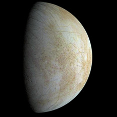 Europa from Galileo