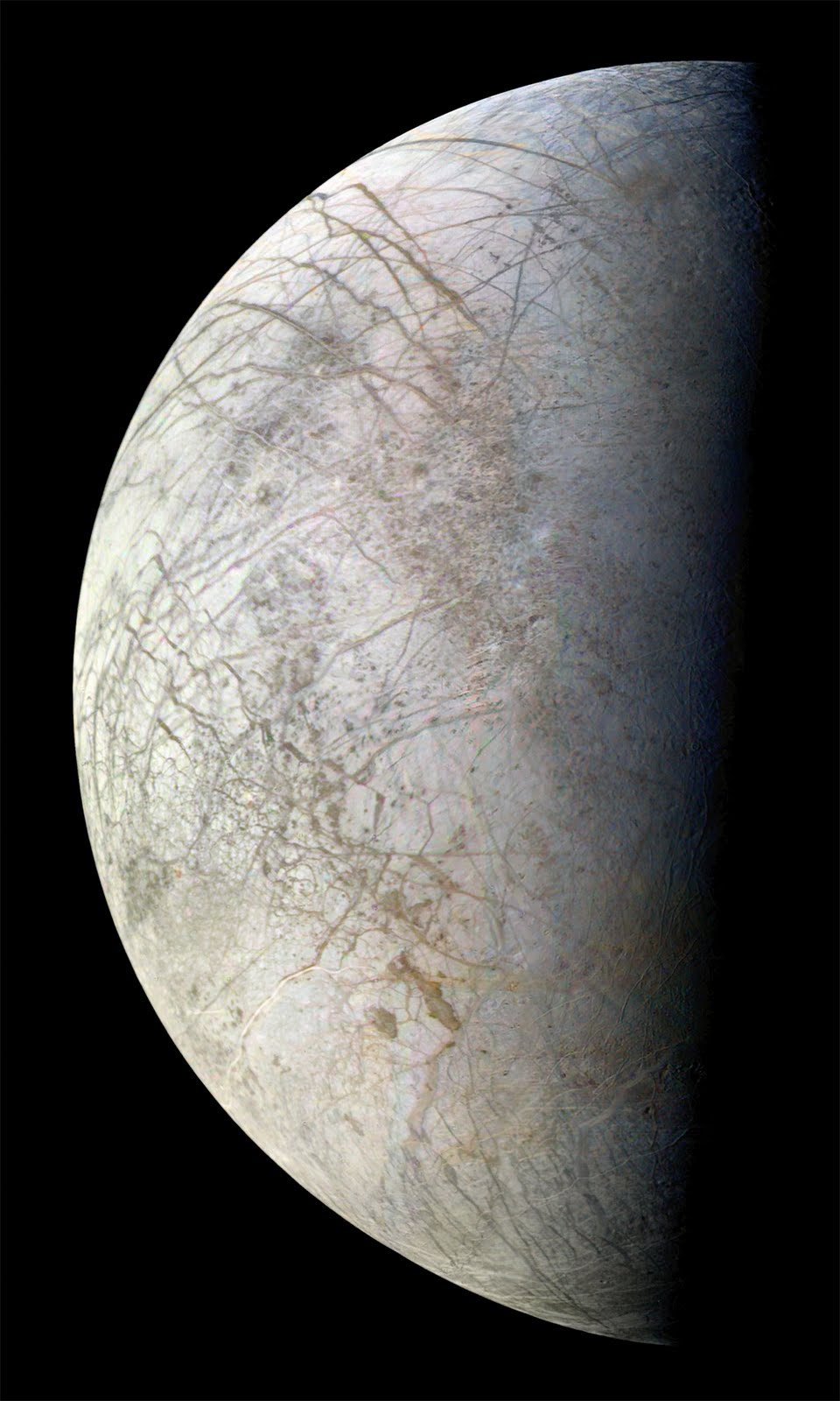 Voyager 2 View Of Europa The Planetary Society
