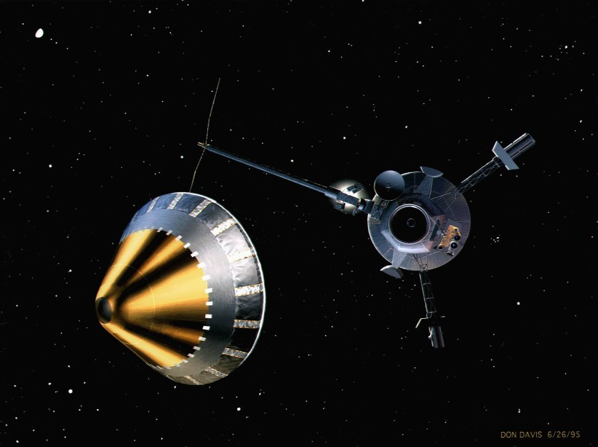 Galileo and probe