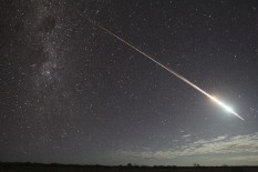 Hayabusa lights up the Australian sky