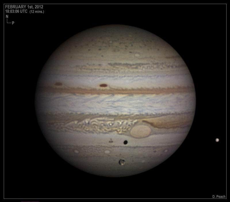 Jupiter on February 1, 2012