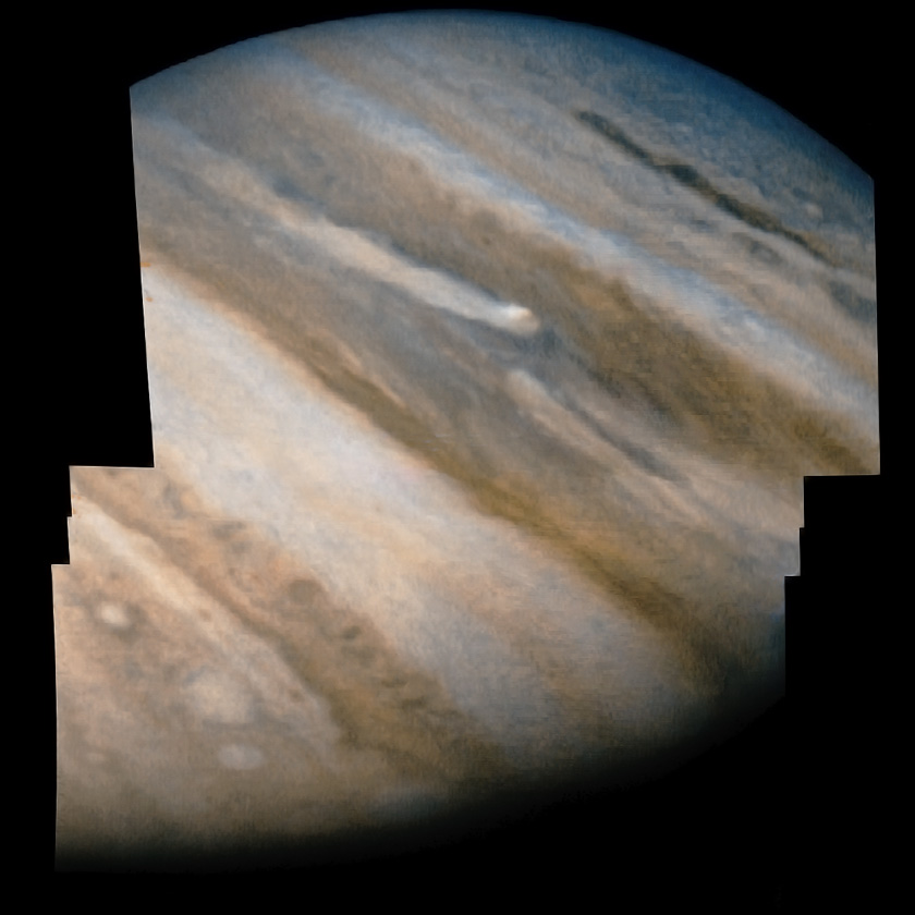 Jupiter closeup from Pioneer 10