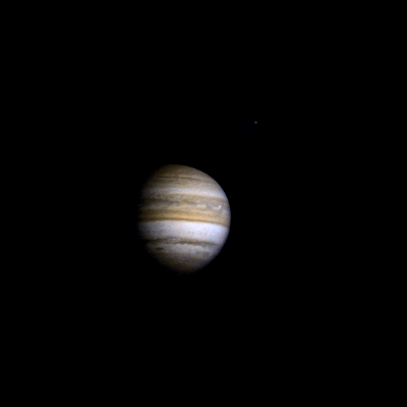 Pioneer 11 approaches Jupiter