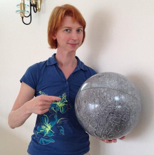 Sky & Telescope Moon Globe