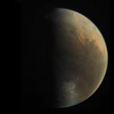 Mars from Mars Express VMC
