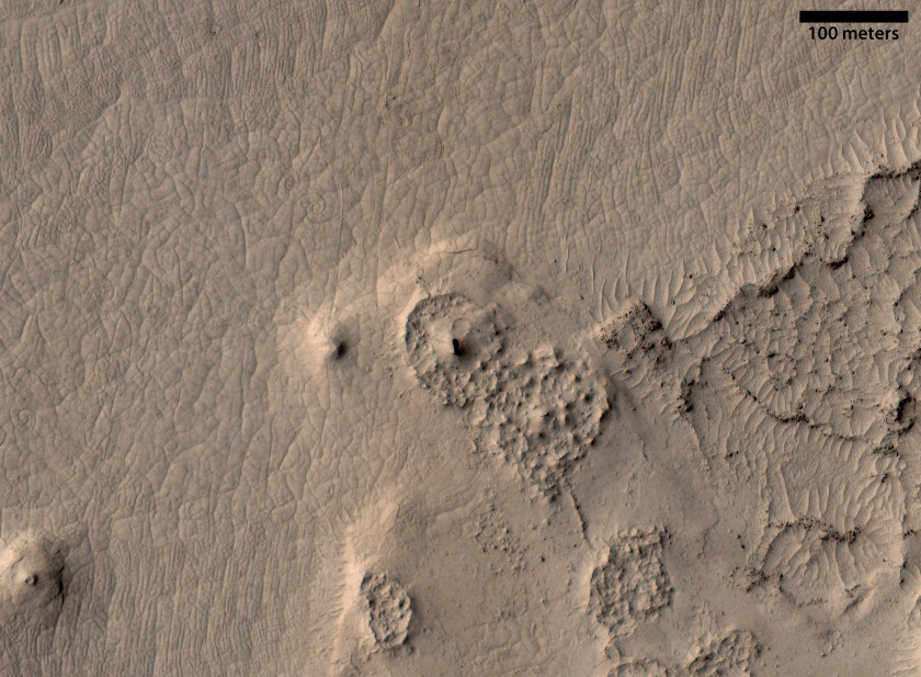 Channel in Cerberus Palus, Mars