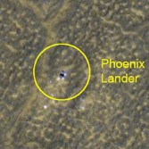 Phoenix landing site monitoring from HiRISE: Jan. 26, 2012