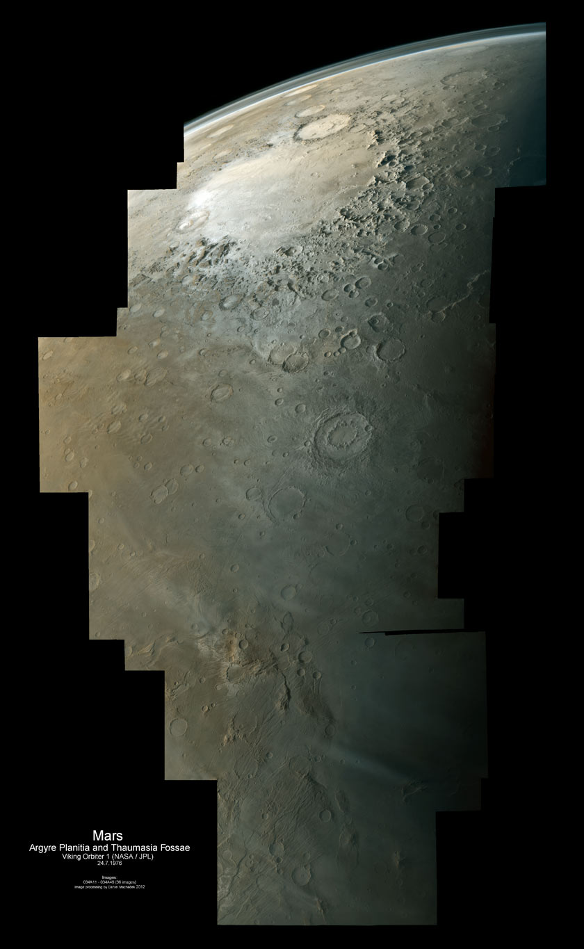 From Argyre to Thaumasia Fossae