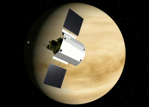 MESSENGER at Venus