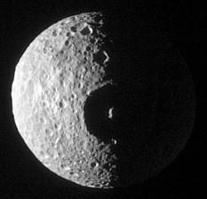 Mimas: Staring at Herschel
