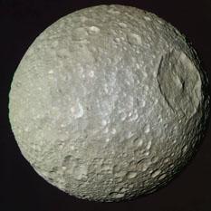 Mimas in color