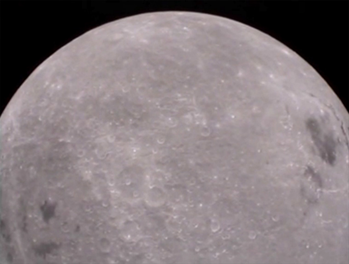 The Moon's farside from Ebb's MoonKAM
