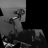 Curiosity deploys the robotic arm for the first time, sol 14