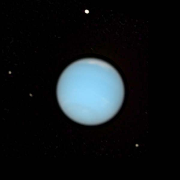 Neptune as seen by the Hubble Space Telescope
