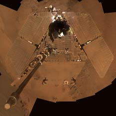 Opportunity Deck Pan, December 2011 (sols 2811-2814)