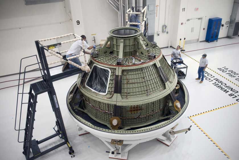 Orion Ground Test Vehicle
