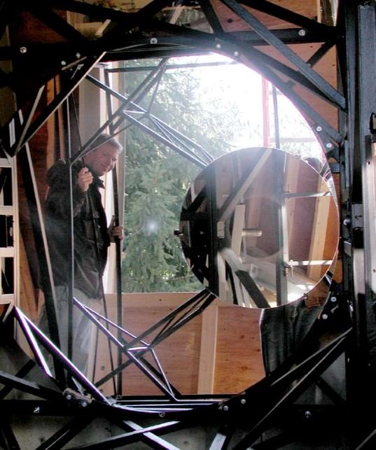 OSETI Telescope Primary MIrror