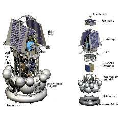 Phobos-Grunt and Yinghuo-1, cruise configuration