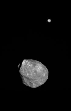 Phobos and Jupiter