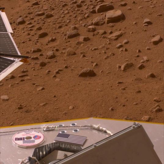 Visions of Mars, on Mars