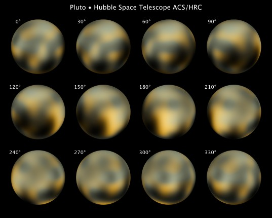New views of Pluto