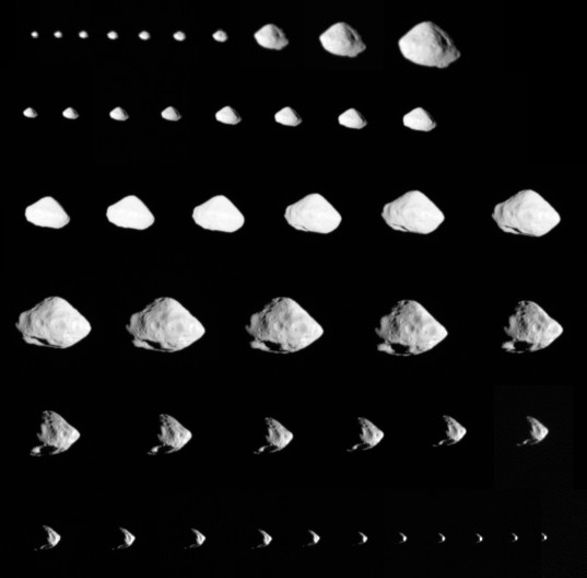 Rosetta images of Steins