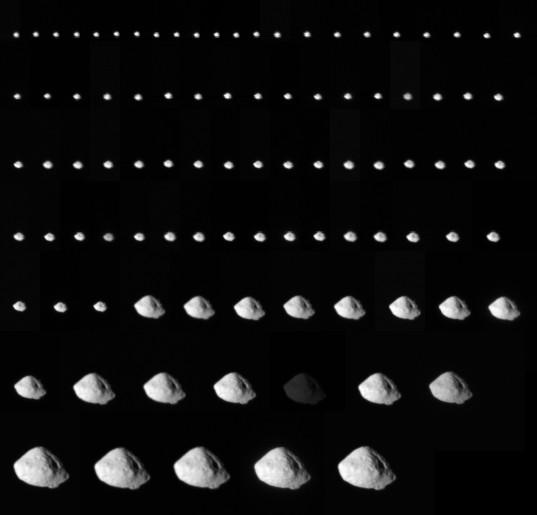 All Rosetta NAC images of Steins