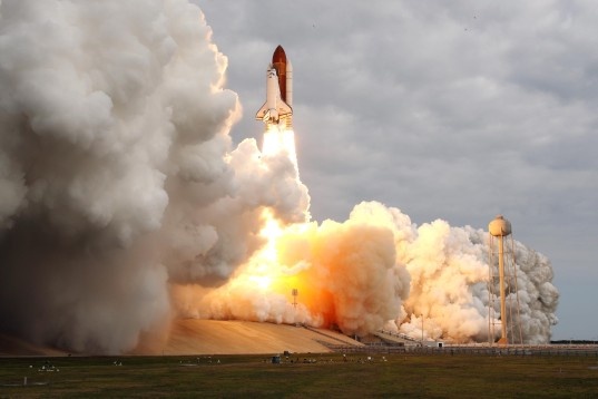 Endeavour's final liftoff