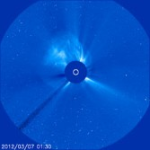 Coronal Mass Ejection headed our way