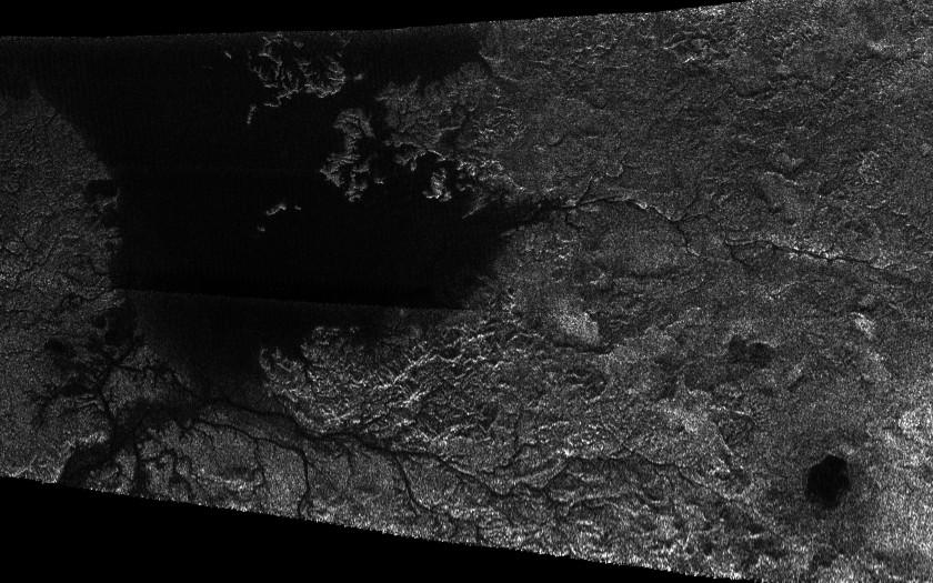 Titan's rivers and lakes
