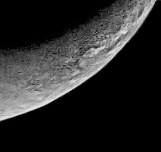 Triton's crescent