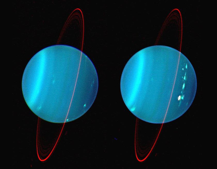 Clouds on Uranus